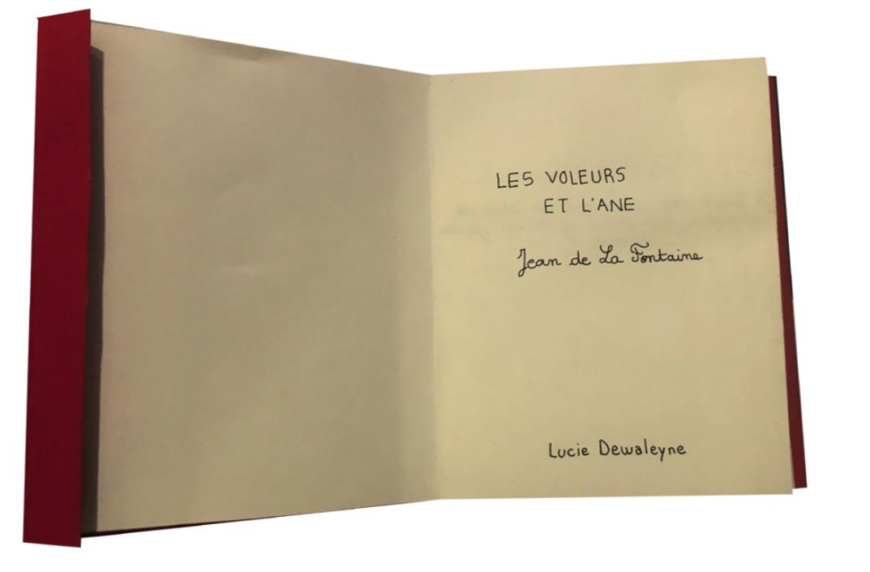 Les Voleurs et L'âne, Jean de La Fontaine