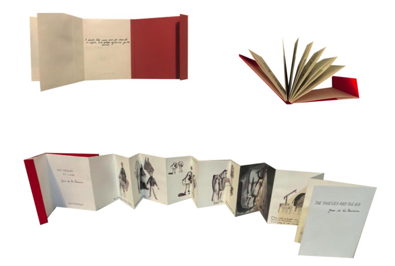 Présentation du livre objet ouvert
